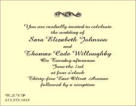 Wedding Invitation Wording Sles by Outdoor Wedding Invitation Wording Sles Wedding