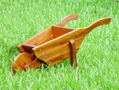 Wooden Wheelbarrows Planters by Wheelbarrow Wooden Garden Planter 163 24 99 Garden4less