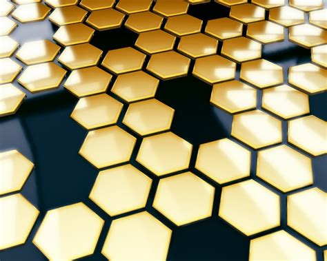 gold hexagon pattern black and gold wallpaper gold color wallpapers wallpaper