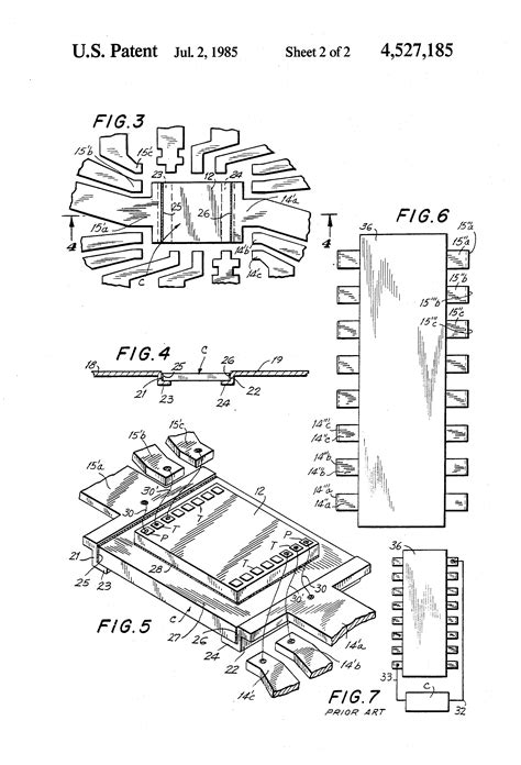 how did the invention of the integrated circuit impact computer design patent us4527185 integrated circuit device and subassembly patents