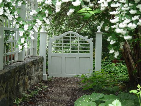 backyard gate garden gates make a grand entrance