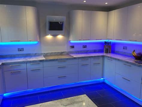 Blue Led Kitchen Lights Kitchens In Colour Instyle Led