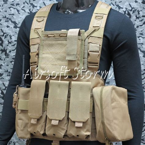 Rompi Tactical Vest Fsbe Molle Improt airsoft swat gear fsbe lbv load bearing molle assault vest coyote brown