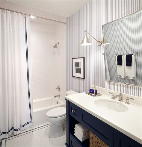 striped wallpaper for bathrooms interior design ideas home bunch interior design ideas