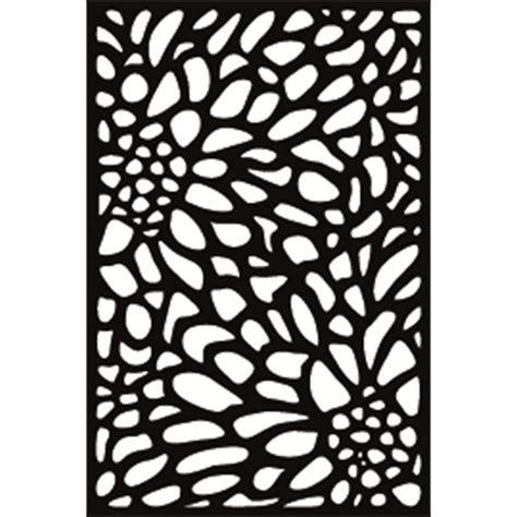 matrix     mm charcoal bloom screen panel