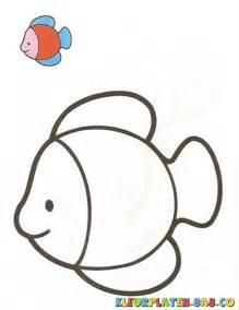 goudvissen met het monster kleurplaten kleurplaten met voorbeelden tekening van een vis met