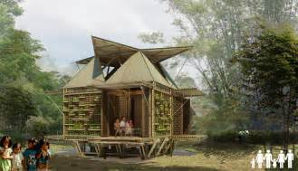 low cost bamboo housing in vietnam by h p architects