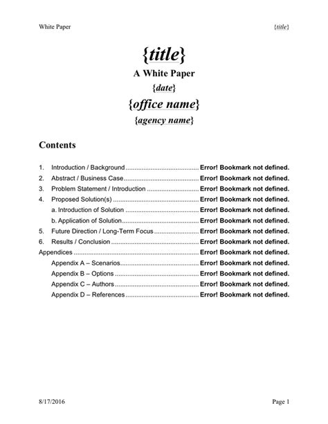 white paper template   documents