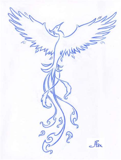 phoenix tattoo no outline 20 beautiful phoenix tattoos freakify com
