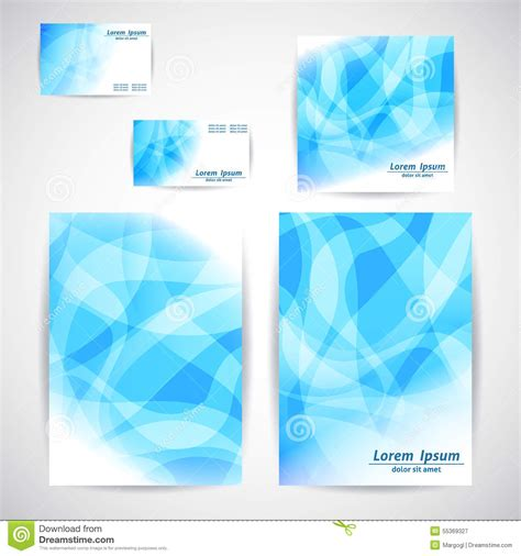 Card Based Web Design Templates by Set Of Flyer Business Card Brochure Design Templates