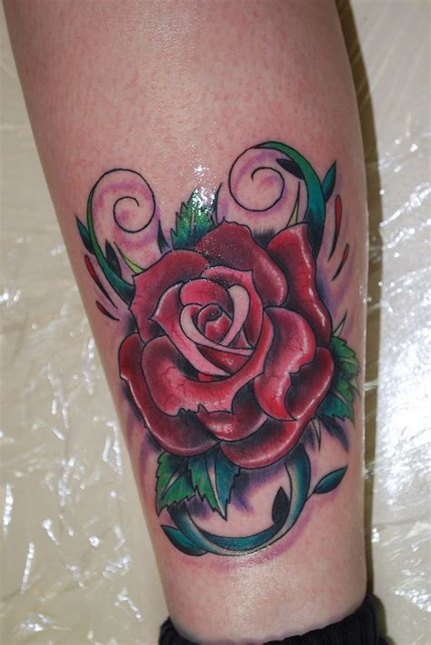 coloured rose tattoo tattoos and their meanings after inked