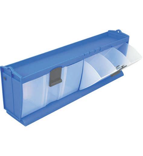 organization bins tilt and lock storage bins in small parts storage