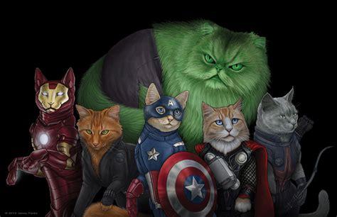 superheroes  villains     cats