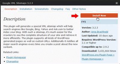 membuat sitemap xml wordpress membuat sitemap pada wordpress
