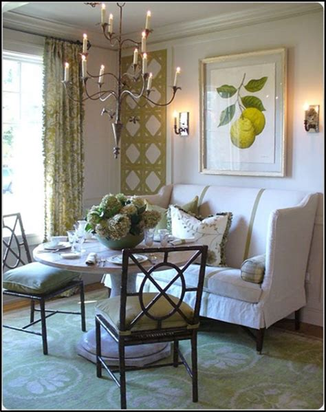 high back dining settee 1000 ideas about round pedestal tables on pinterest