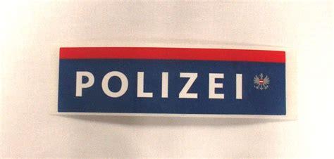 Polizei Aufkleber by Diverse Artikel
