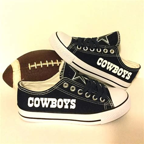 nfl shoes for fans dallas cowboys handmade converse dallas cowboys converse