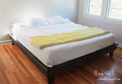diy floating platform bed easy to build diy platform bed designs