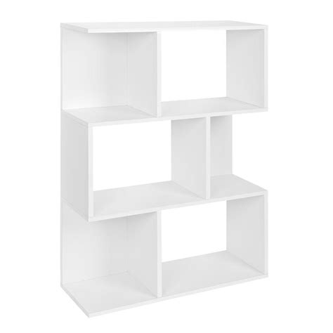 Hton Bay 3 Shelf Standard Bookcase In White Thd90003 1a 3 Shelf White Bookcase