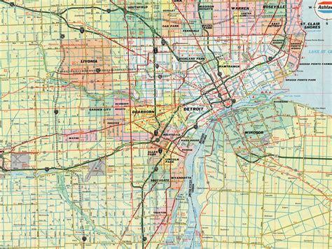 map of detroit michigan interstate guide interstate 696 michigan