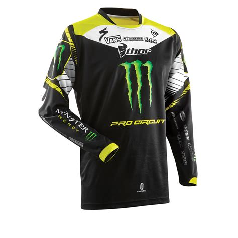 thor motocross thor phase sp14 pro circuit monster energy mx shirt moto x