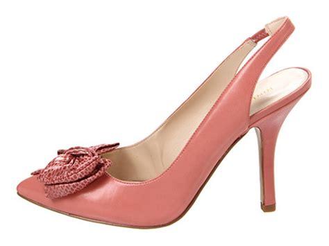 shoes nine west blooming platform sling back bow