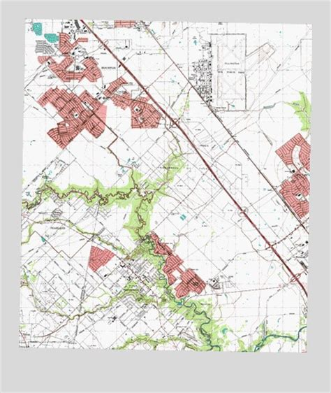 friendswood texas map friendswood tx topographic map topoquest