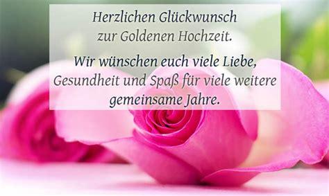 Hochzeit Jahre by Goldene Hochzeit Gl 252 Ckw 252 Nsche Und Spr 252 Che