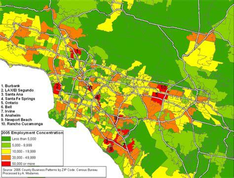 zip code map southern california zip code irvine california map