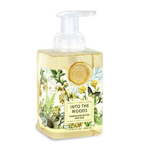 michel design works luxury foaming hand bath body soap lotions uk michel design works foaming hand soap into the woods