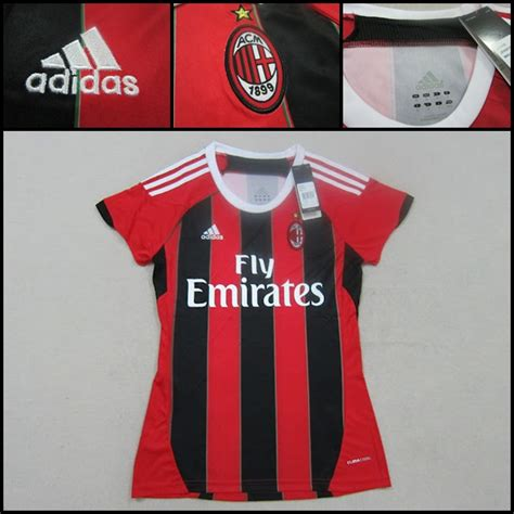 Jersey Ac Milan Home Musim 1617 jersey kw jersey bola 172