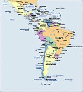 labeled map of and south america america wall map maps