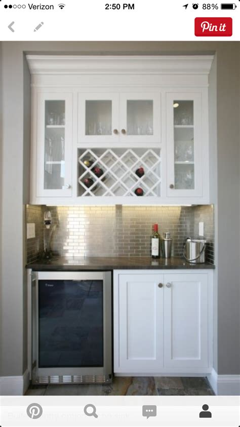 butler pantry wine fridge fixer upper pinterest