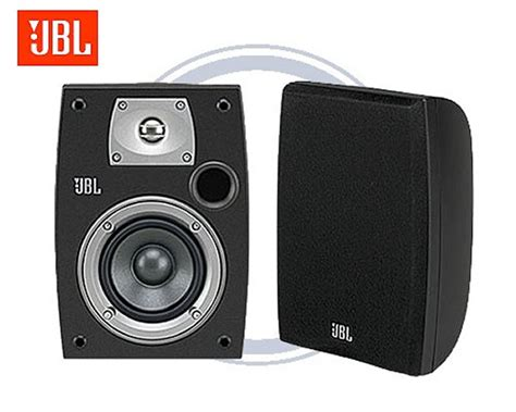 jbl n24ii black bookshelf speaker
