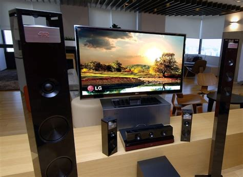 lg home theater system adds vertical speakers for 9 1