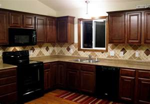 kitchen backsplash ideas with dark cabinets images