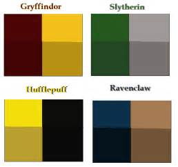 hogwarts houses colors images