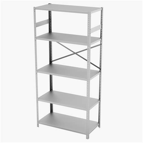 Commercial Shelf by 3d Model Commercial Steel Shelving Tennsco