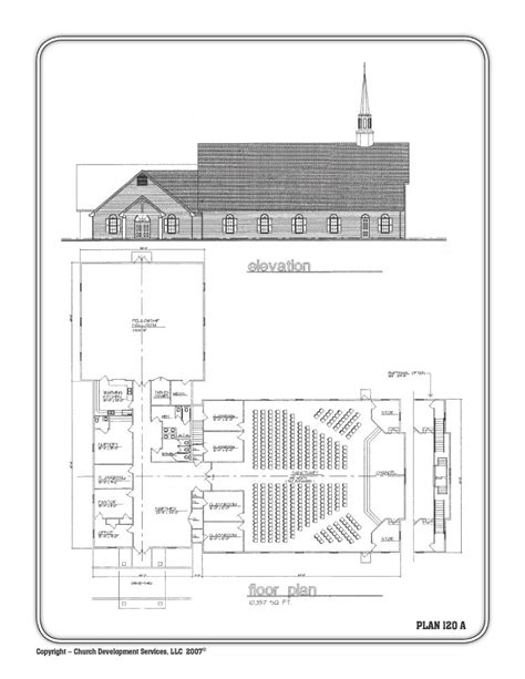 church fellowship floor plans 10 000 sq 5 classrooms nursery and fellowship