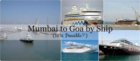 catamaran goa to mumbai mumbai to goa by ship fare india travel forum