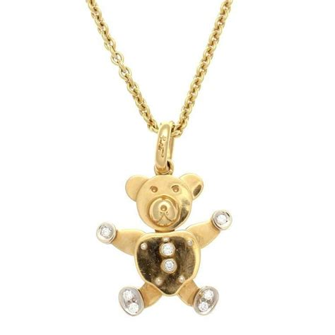 orso pomellato pomellato gold teddy necklace for sale at 1stdibs