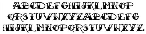 tattoo fonts sailor jerry out of step font company