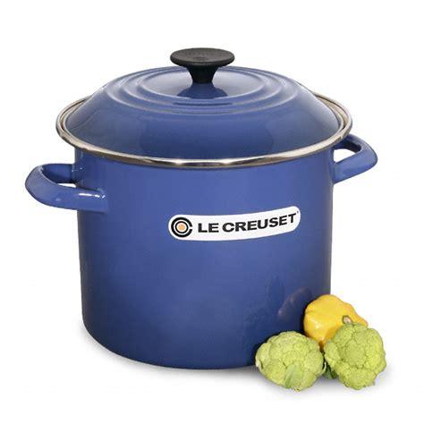 creuset pot le creuset 8 qt stock pot 6 color choices on sale free