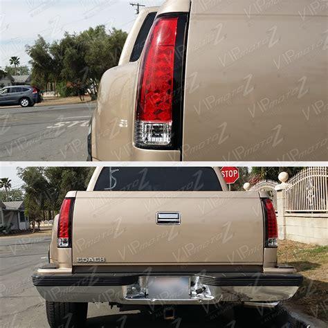 led tail lights for 97 chevy silverado chevrolet k1500 k2500 k3500 pickup silverado red tail