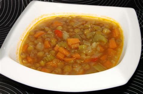 ina garten soup ina gartens lentil vegetable soup vegetarianized recipe food