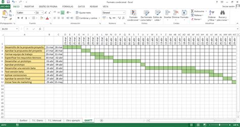 Gantt Excel Diagrama De Gantt Excel Diagrama Free Engine Image For