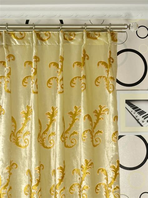 single pleat drapes hebe mid scale scrolls single pinch pleat velvet curtains