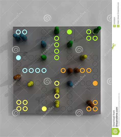 Plan Toys Ludo Pt4622 child ludo from top view illustration stock images image 26163934