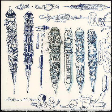 Pen Doodles By Mattiasa On Deviantart