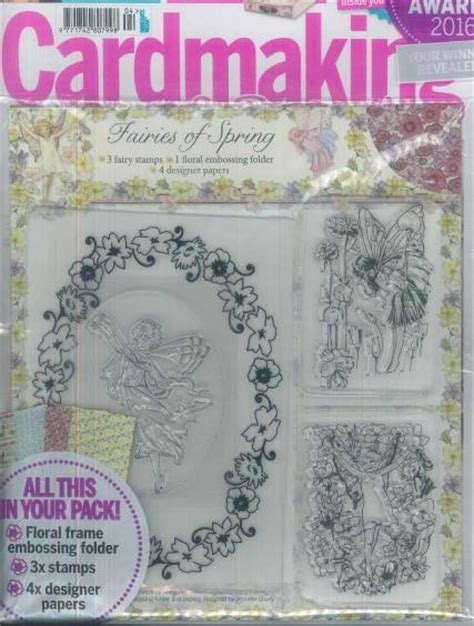 Cardmaking And Papercrafts Magazine - cardmaking papercraft magazine subscription